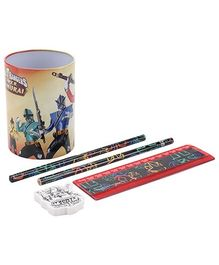 Power Rangers Pen Holder Gift Set