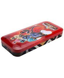 Power Ranger Red Pencil Box - Super Samurai Print