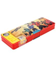 Power Ranger Samurai PVC Pencil Box - Design 1