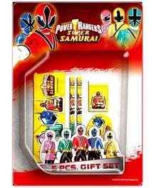 Power Ranger Samurai 5 Piece Gift Set - Design 2