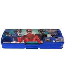 Power Ranger Magnetic Compass box With Inbuilt Magnifying Glass