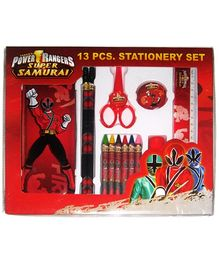 Power Rangers Super Samurai Stationery Set - 13 Pieces