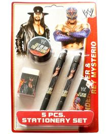 WWE 5 Pieces Stationery Set - Design 1