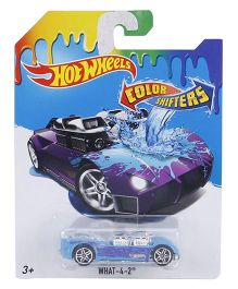 Hot Wheels Color Shifters What 4-2 - Blue