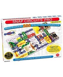 Snap Circuits SC-500 Pro 500 Experiments Electric Circuit