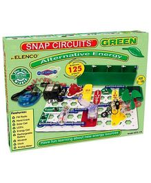 Snap Circuits Green - Alternative Energy Kit By Elenco