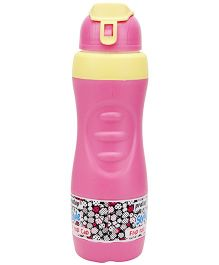 Pratap Happy Cool Style Flip Top Cap Sipper Pink - 700 ml
