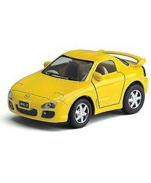 Kinsmart Mazda RX-7 Yellow