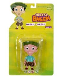 Dholu Bholu Brown Action Figure Toy - Multicolour