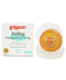 Pigeon Baby Transparent Soap With Case - 80 gm
