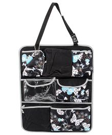 My Milestones Sling Car Seat Organizer - Butterfly Design