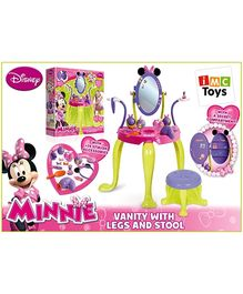Disney Minnie Vanity Play Set With Legs and Stool