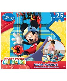 Disney Mickey Mouse Foam Puzzle- 25 Pieces