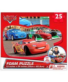 Disney Car Giant Foam Puzzle- 25 pieces