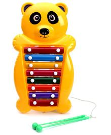 Prime Creations Pull N Tune Panda Xylophone - Yellow