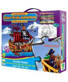 Learning Journey Puzzle Giant Pirate Adventure - 30 Pieces