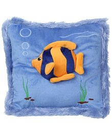 Pillow Cushion Gold Fish Applique