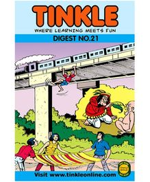 Tinkle Digest No. 21 - English