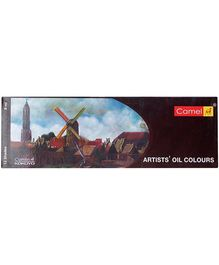 Camel Artists Oil Colors - 12 Shades