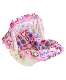 Mee Mee 3 in 1 Carry Cot Multiple Print - Pink