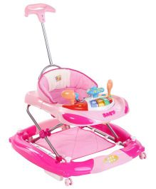 Mee Mee Super Safe Musical Walker Cum Rocker (Color May Vary)