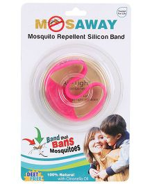 Mosaway Mosquito Band with Light- Pink