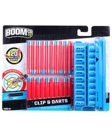 Boomco Clip And Darts - Red