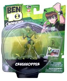Ben 10 Crashhopper Figure With Micro Figure