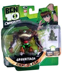 Ben 10 Fusion Gravattack Figure with Hour Glass Figure