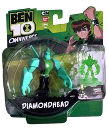 Ben 10 Diamond Head With Hour Glass Figure