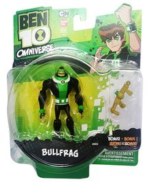 Ben 10 Alien Collection Figure- Bullfrag