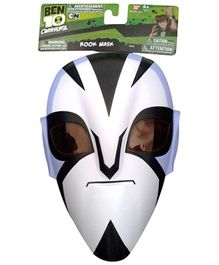 Ben 10 Rook Alien Mask Figure - Black and white