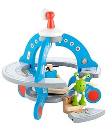 Hape UFO Playset with Friendly Alien