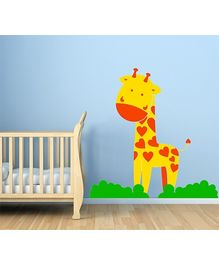 Chipakk Giraffe Wall Decal Yellow - Small