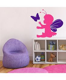 Chipakk Lil Fairy Wall Decal Pink - Small