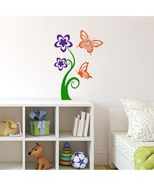 Chipakk Wall Decal Close To Nature Butterfly Small - Orange