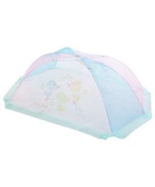 Mee Mee Mosquito Net Chick Design - Blue And Pink