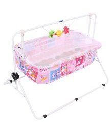 Infanto Comfy Cradle Love You Print - Pink
