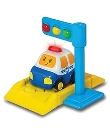 Winfun Police Car & Traffic Light