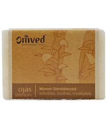 Omved Ojas Sandalwood Bathbar - 125 gm