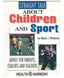 Pegasus Book Straight Talk About Children And Sport - English
