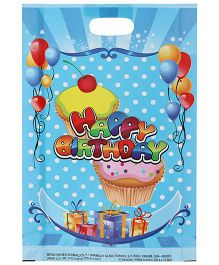 Karmallys Printed Happy Birthday Bag- Dark Blue