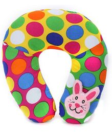 Babyhug Neck Protector Pillow with Motif - Bunny
