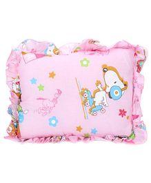 Babyhug Rectangular Baby Pillow - Pink