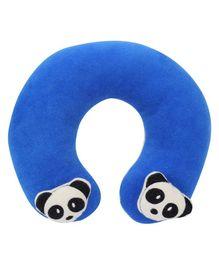 Babyhug Neck  Pillow With Panda Motifs - Blue