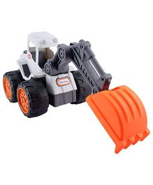 Little Tikes Dirt Diggers Excavator - Grey And Orange