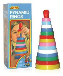 Jana Pyramid Rings