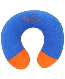 Babyhug Plush Neck Pillow - Blue