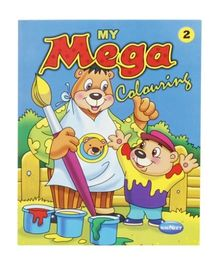 Navneet - My Mega Coloring Book (Part 2)
