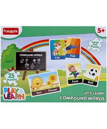 Funskool Play and Learn Compound Words- 25 Pieces